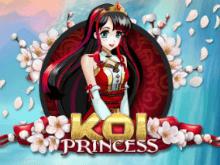 Koi Princess - играйте онлайн бесплатно